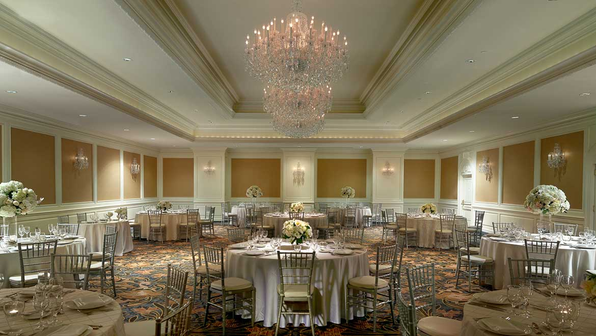 Grand Ballroom Wedding Reception