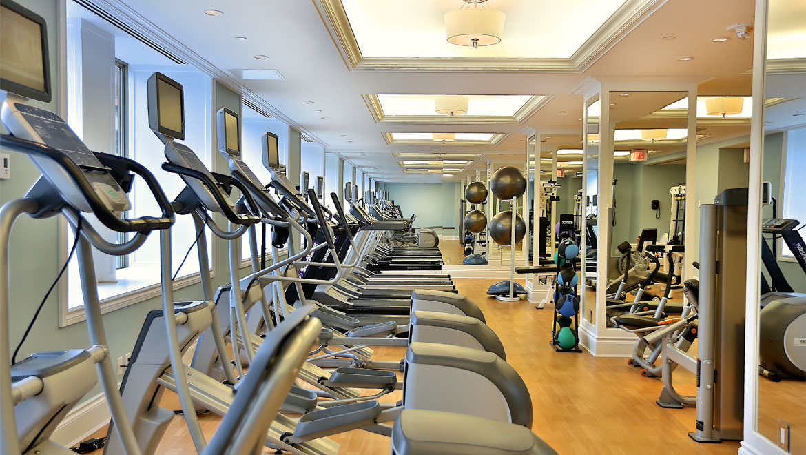 King Edward Toronto fitness machines
