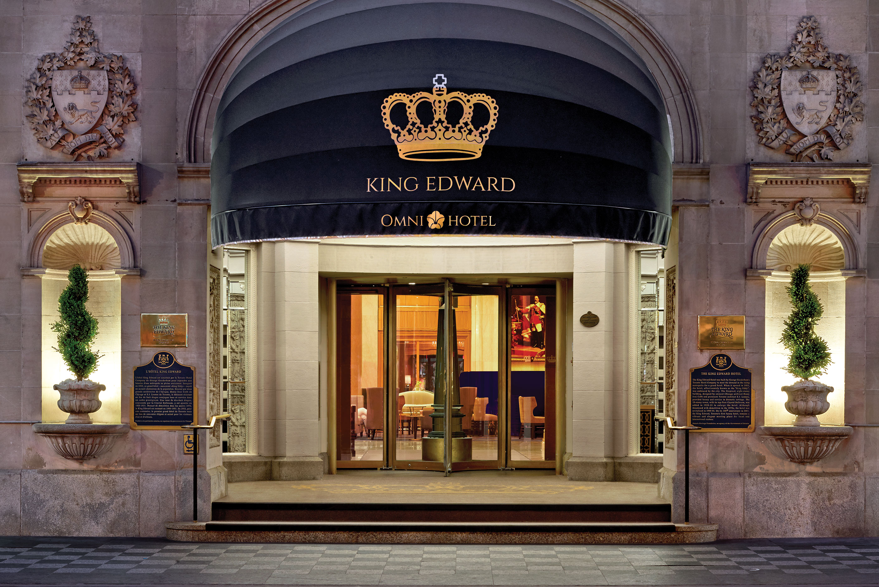 Downtown Toronto Hotels | The Omni King Edward Hotel