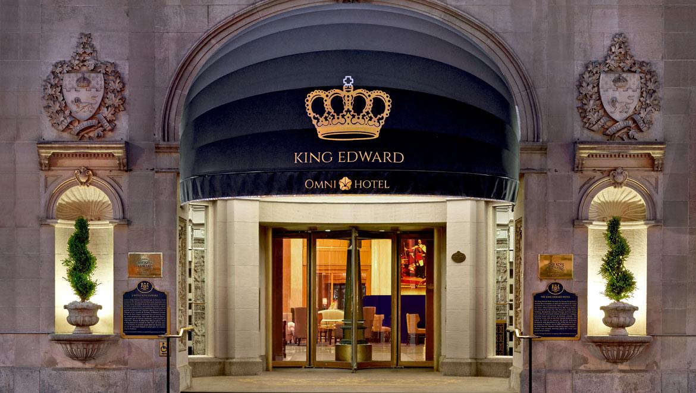 King Edward Room Service