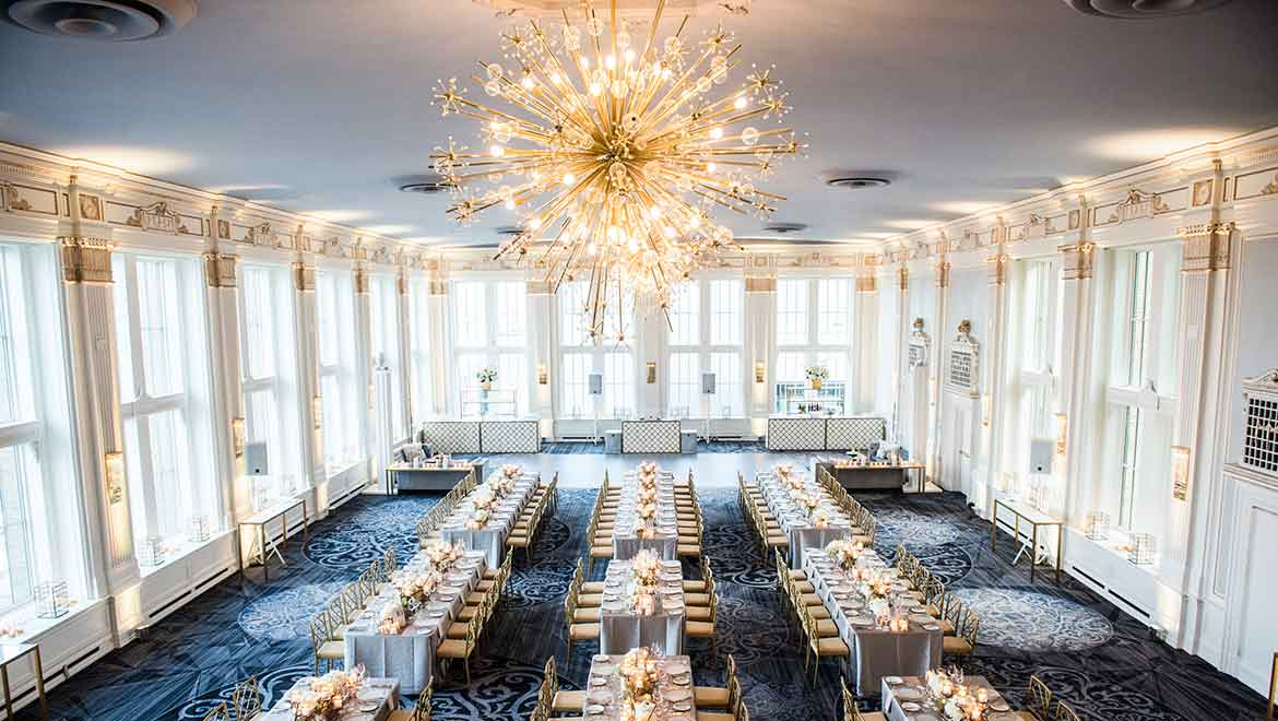 Crystal Ballroom Reception