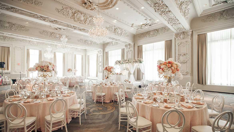 Wedding Reception Tables King Edward Hotel Toronto Previous Next The Sovereign Ballroom Set Up