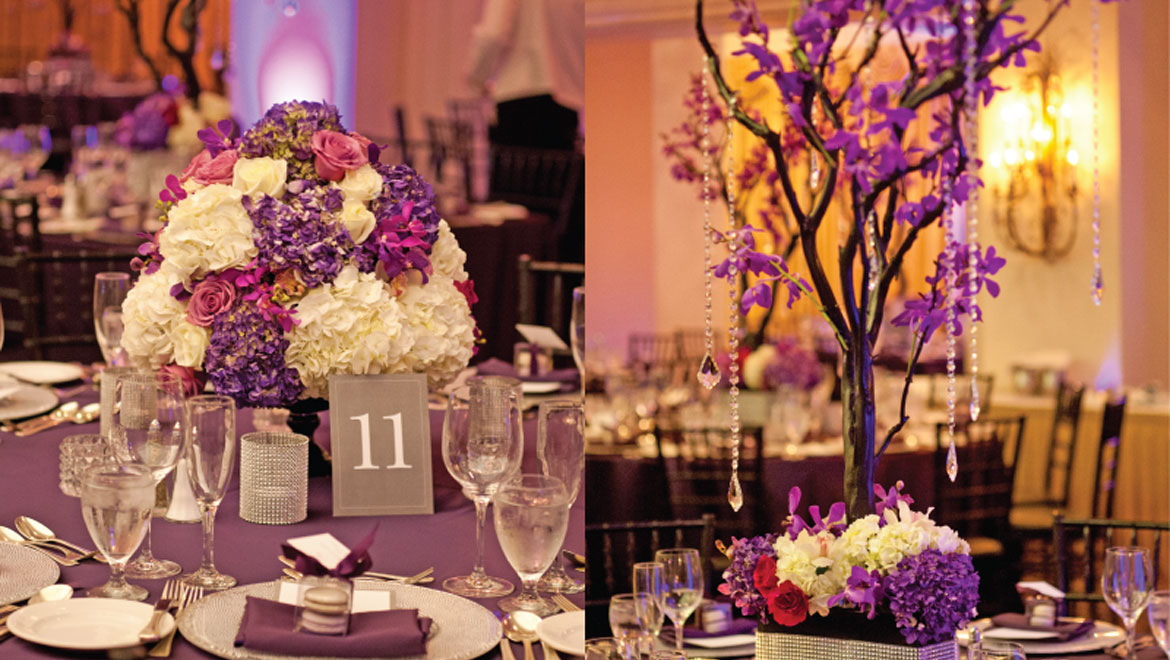 Wedding reception tables King Edward Hotel Toronto