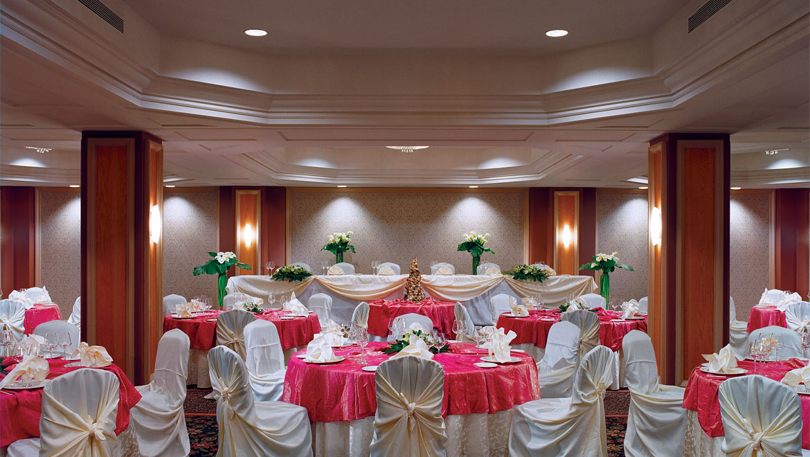 Wedding Reception Tables And Chairs Set Up King Edward Hotel In Toronto