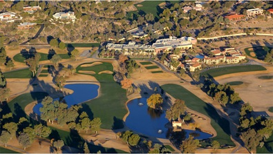 Tucson Resort aerial view