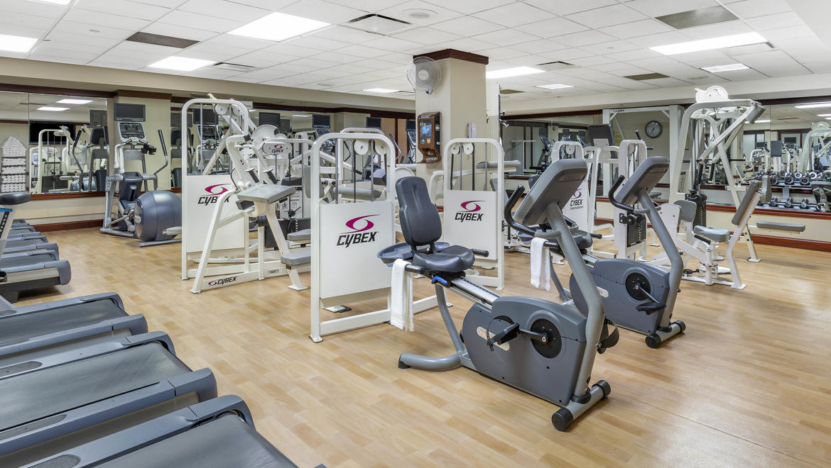 Omni Shoreham Fitness Room