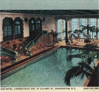Original Pool at Shoreham Hotel