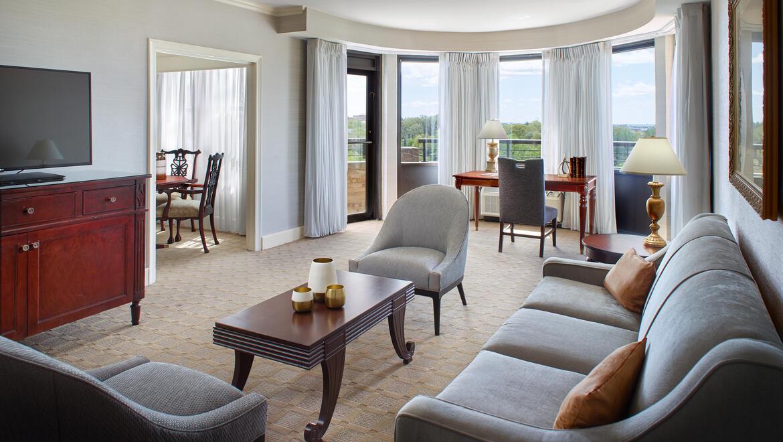 suites in washington dc  guest rooms  omni shoreham hotel