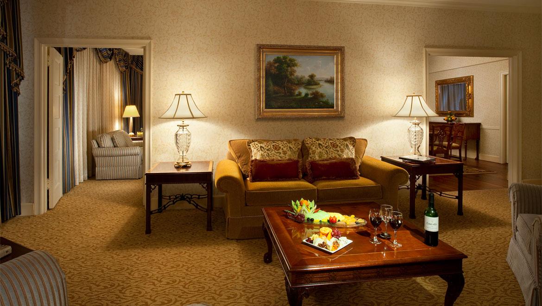 2 Bedroom Hotel Suites In Washington Dc Glamorous Suites In Washington Dc  Guest Rooms  Omni Shoreham Hotel Design Ideas