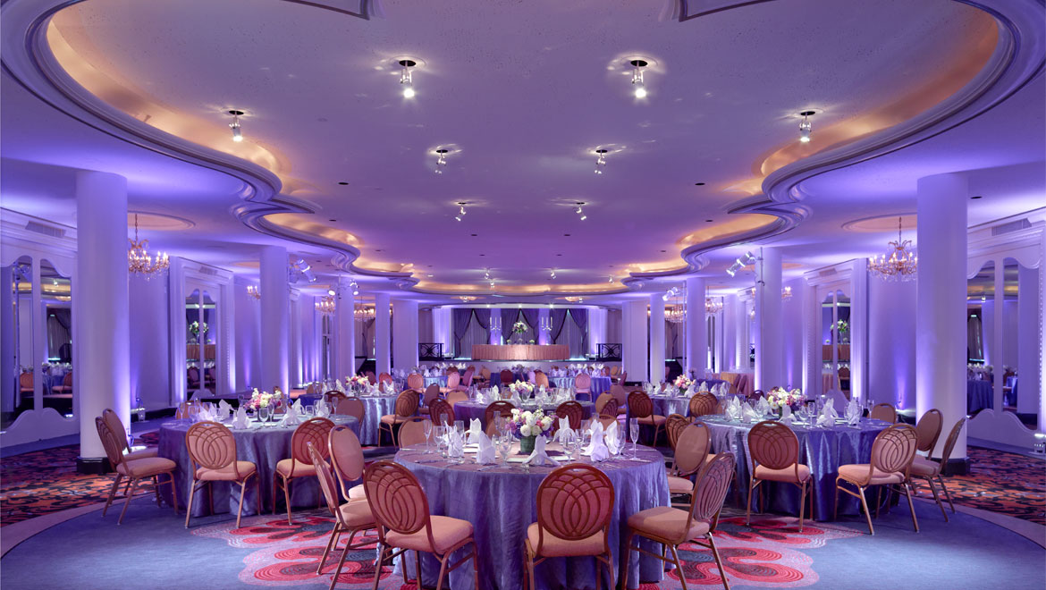 Event space in a hotel