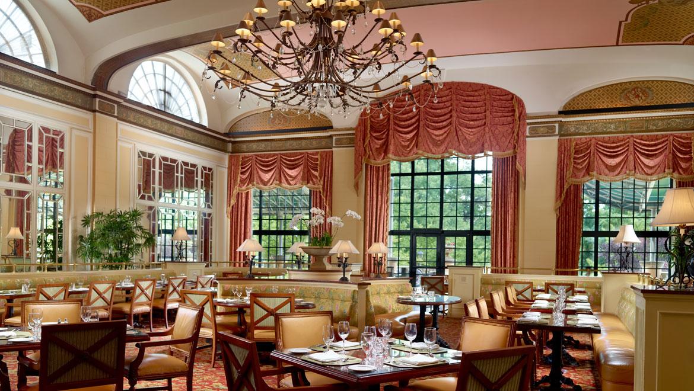 American Restaurant Dc Roberts Omni Shoreham Hotel