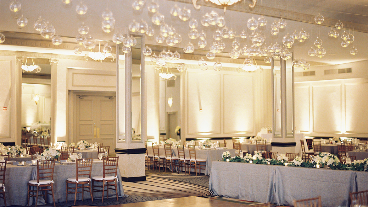 Blue Room Wedding Reception