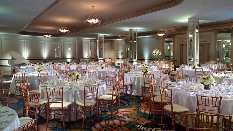 D C Wedding Venues Omni Shoreham Hotel