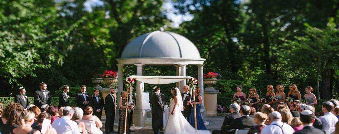 Tara and Arron Gazebo Wedding