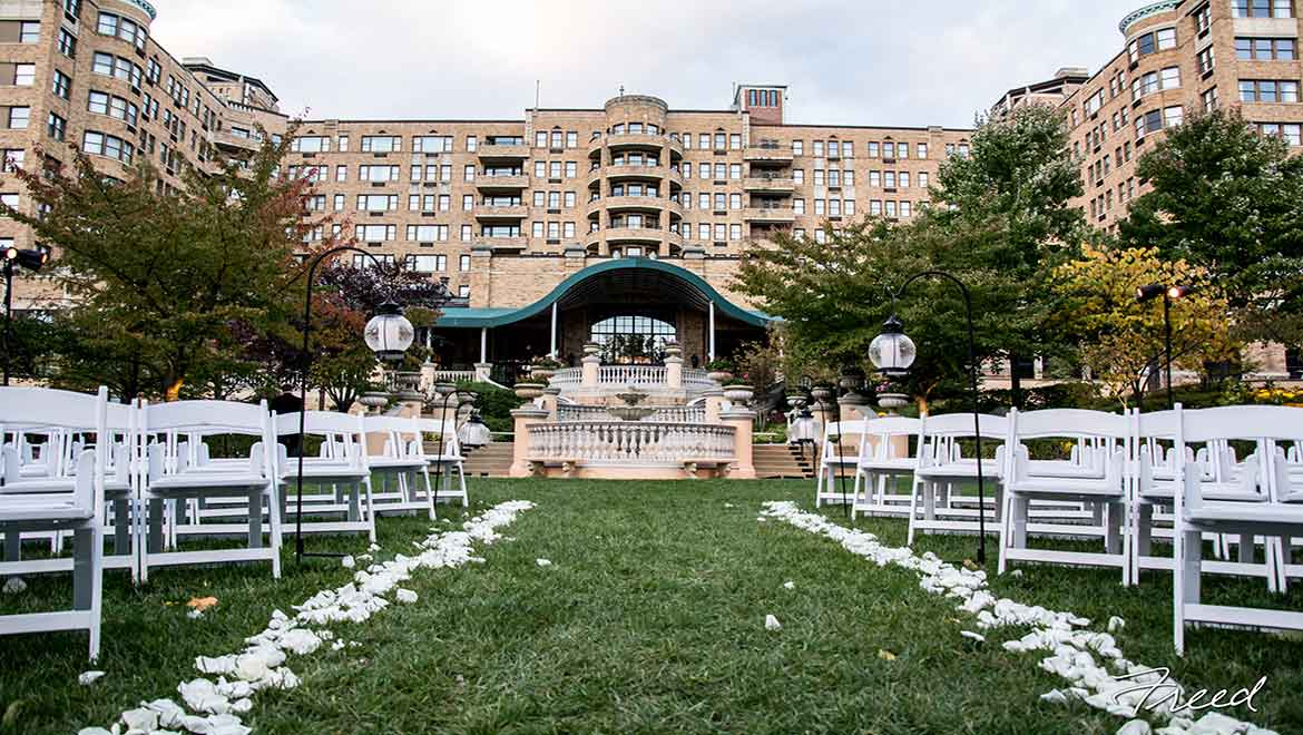 Omni Shoreham Terrace Wedding
