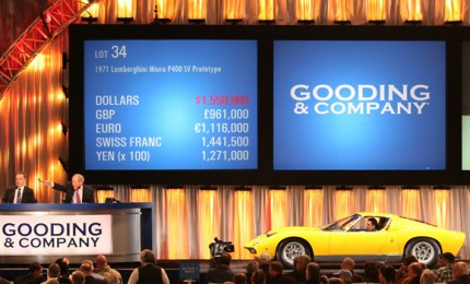 Amelia Island Welcomes Back Gooding & Co. Car Auction