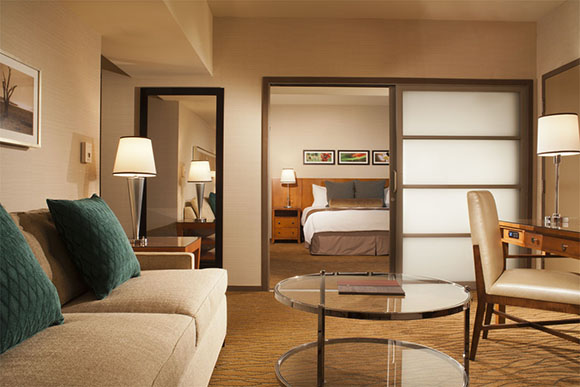 Omni San Diego Hotel renovation executive suite