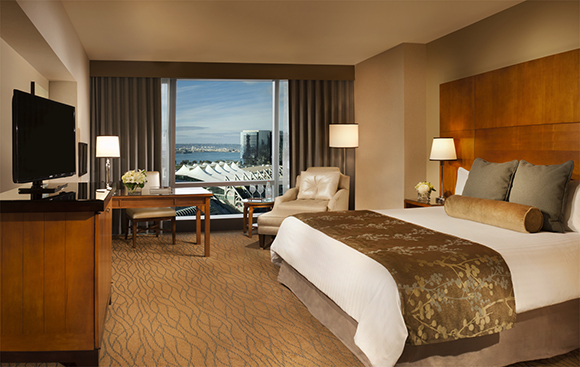 Omni San Diego Hotel renovation king