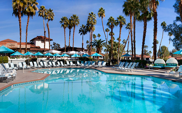 Omni Rancho Las Palmas Resort and Spa azure-pool