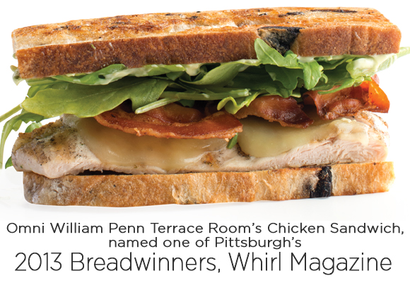 Omni William Penn Chicken Sandwich