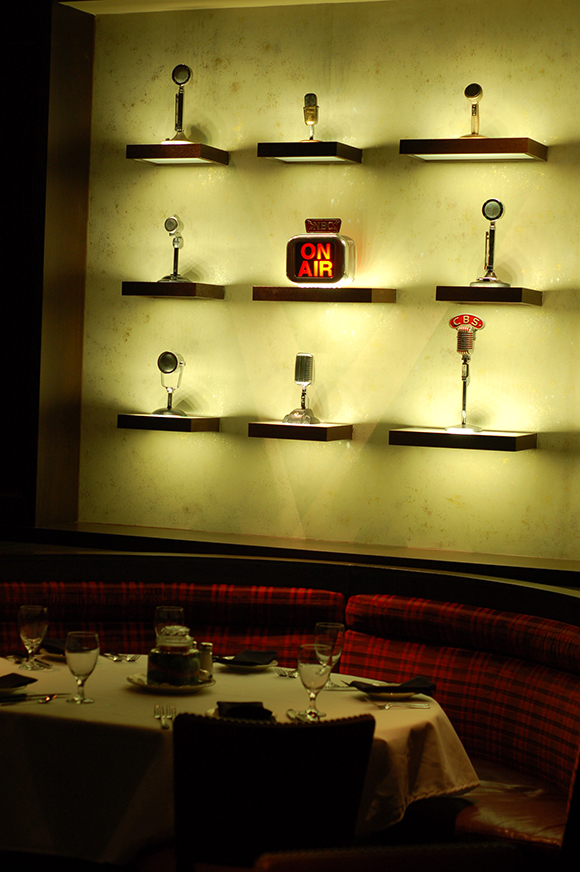 Omni Nashville Hotel Bobs Steak Chop House table