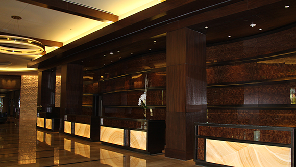 Omni Nashville Hotel Front Desk