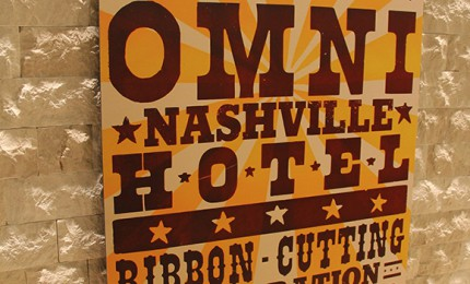 Music City Welcomes The Omni Nashville Hotel