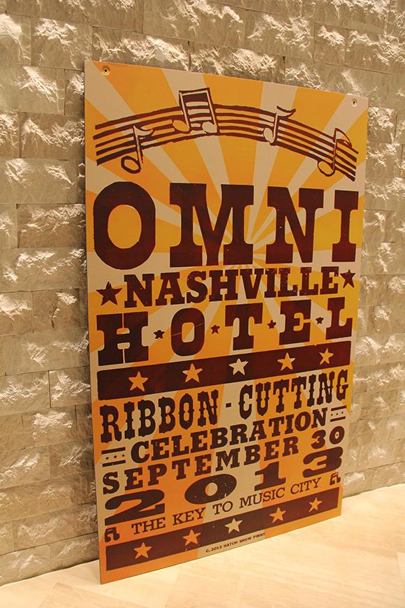 Omni Nashville Hotel Hatch print grand opening
