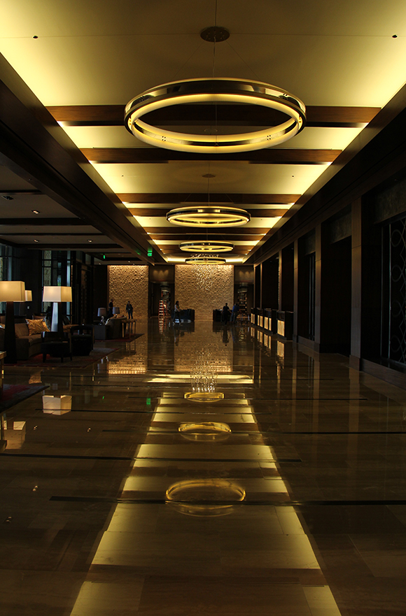 Hotel Foyer Music : Strokes and notes a hotel built with art