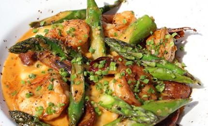 Shrimp and Chorizo Grits Recipe Pin