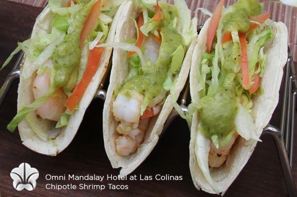 Tailgate Recipes - Chipotle Shrimp Tacos