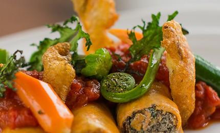 Chef James Lumley: Vegetarian Manicotti Recipe