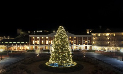 Omni Bedford Springs Readies For Grand Illumination