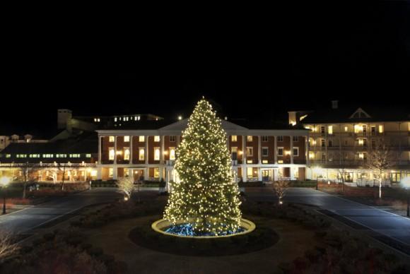 Omni Bedford Springs Illumination