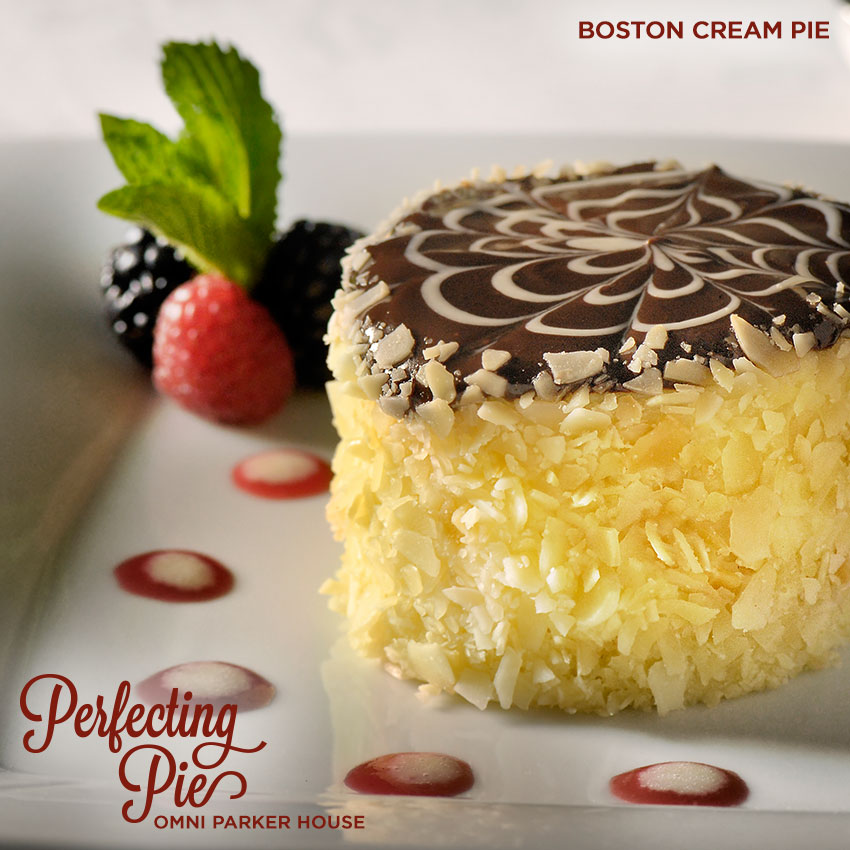 Perfecting Pie - Boston Cream Pie