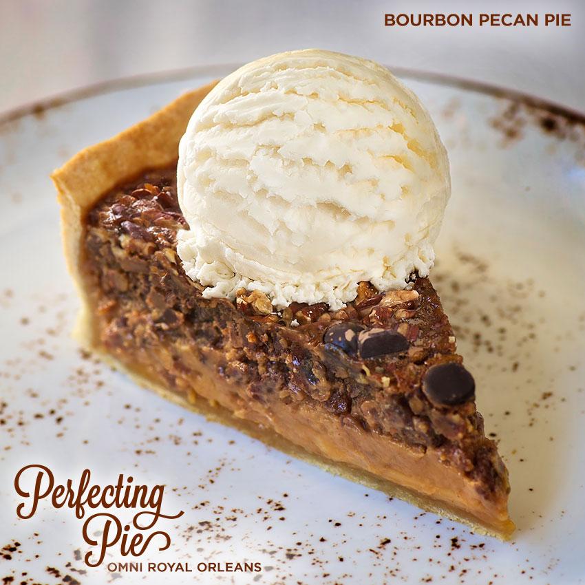Perfecting Pie - Bourbon Pecan Pie