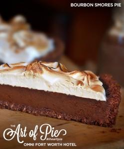 Bourbon S'mores Pie
