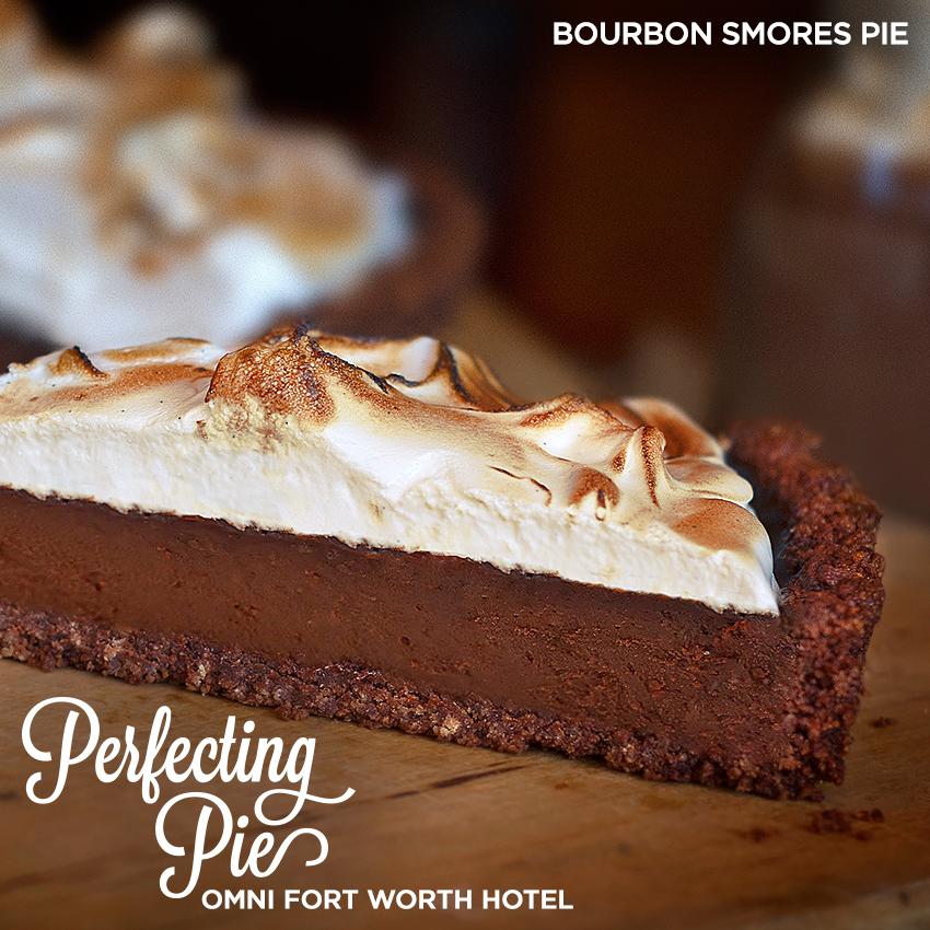 Perfecting Pie - Bourbon S'Mores Pie