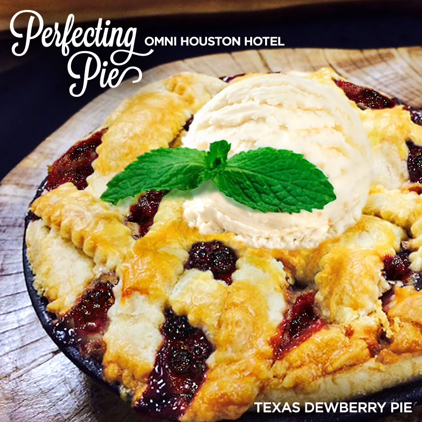 Perfecting Pie - Texas Dewberry Pie