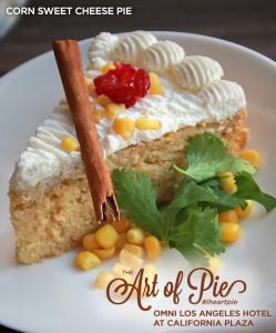Sweet Corn Cheese Pie