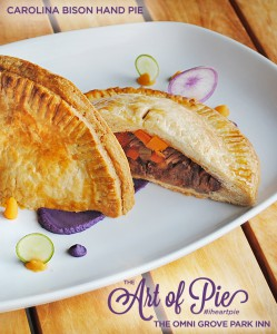 Carolina Bison and Sweet Potato Hand Pie