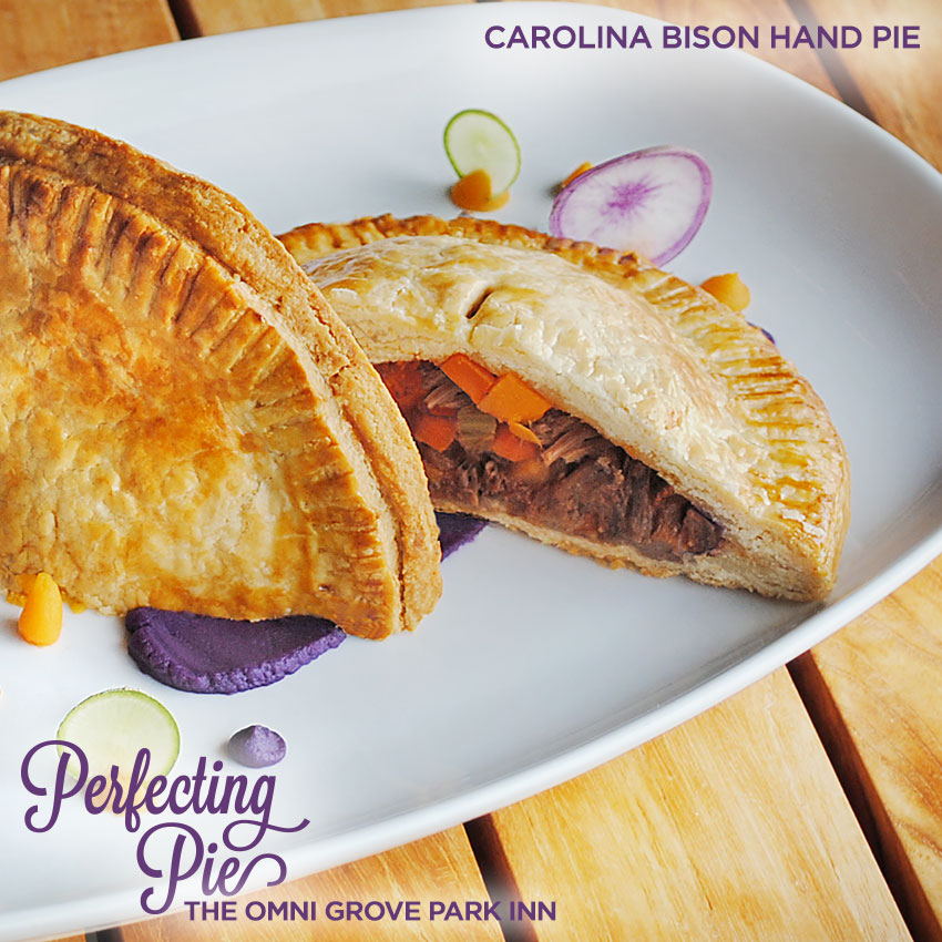Perfecting Pie - Carolina Bison Hand Pie