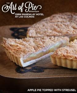 Apple Pie Topped With Struesel