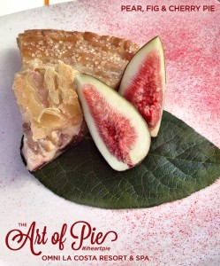 Pear Fig and Cherry Pie