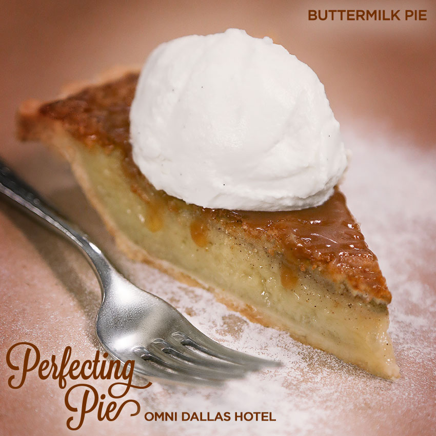 Perfecting Pie - Buttermilk Pie