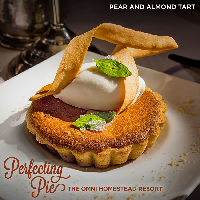 Perfecting Pie - Pear And Almond Tart