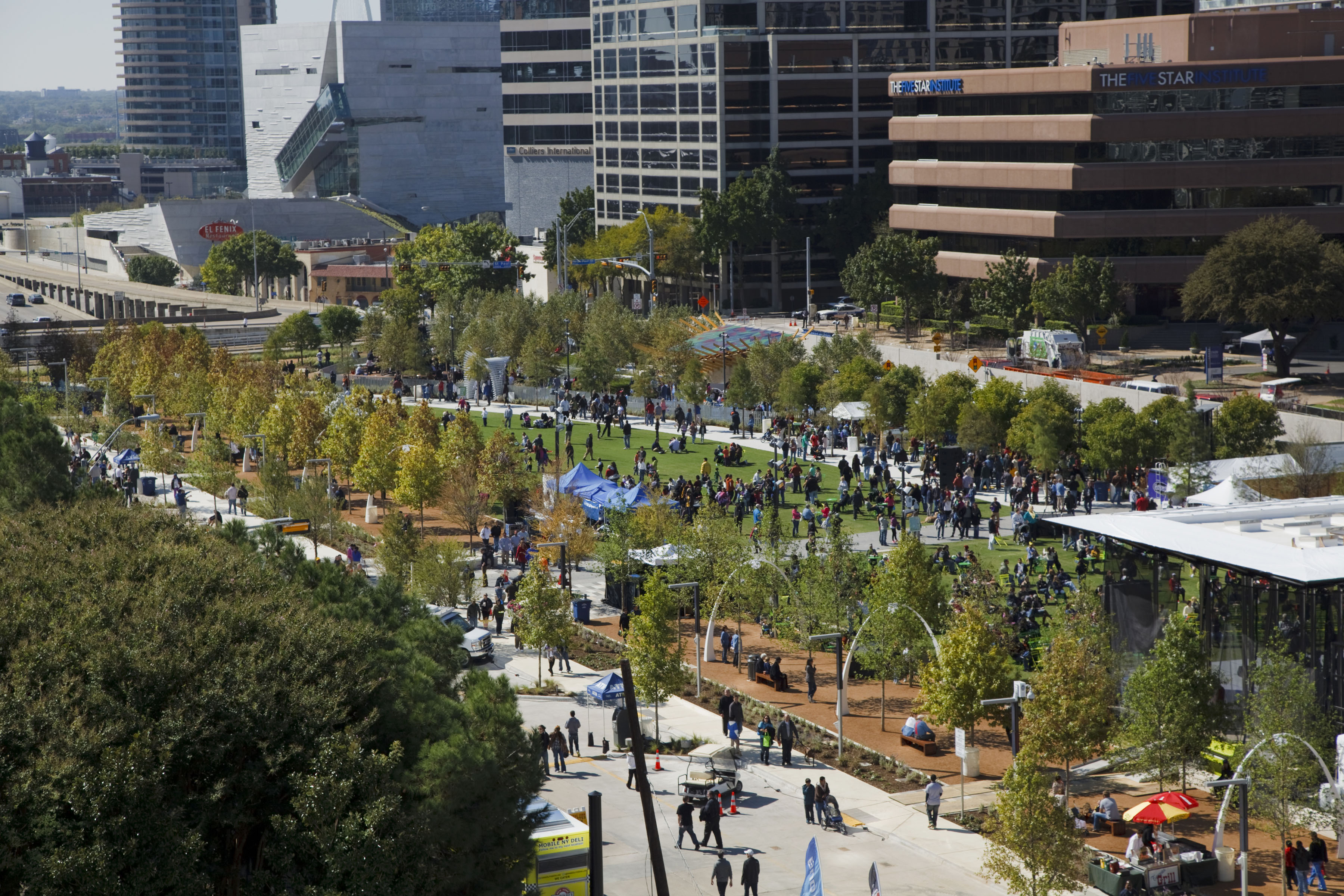 Photo Credit: Klyde Warren Park