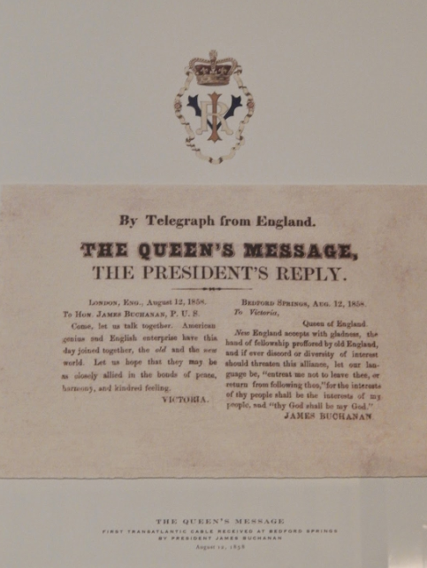 Image result for queen Victoria's first telegraph