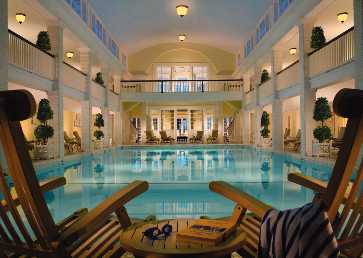 Indoor Pool at Omni Bedford Springs Resort