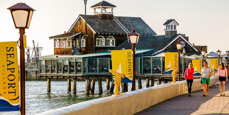 Best Restaurants Seaport Village San Diego